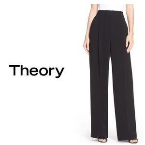 NWT Theory Adamaris High Waist Wide Leg Pants